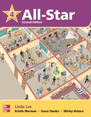 All Star Level 4 Student Book with Work-Out CD-ROM - Lee, Linda, and Sherman, Kristin D, and Tanaka, Grace