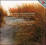 "Allan Pettersson: Concerto No. 1 for Strings; Symphony No. 12 ""Los Muertos de la Plaza"""