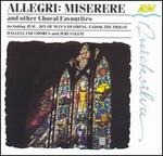 Allegri: Miserere and other Choral Favourites - Barnaby Lane (treble); Michael Liley (alto); Viols of the Consort of Musicke;...