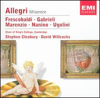 Allegri: Miserere - David Briggs (continuo); Gerald Finley (cantor); Timothy Beasley-Murray (treble); Wilbraham Brass Soloists;...