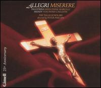 Allegri: Miserere - Alison Stamp (treble); Alison Stamp (soprano); Andrew King (tenor); Colin Scott Mason (bass); Colin Scott Mason (tenor);...
