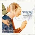 Almisonis Melos: The Ivrea Codex - Cantica Symphonia; Efix Puleo (vielle); Elisa Franzetti (soprano); Fabio Furnari (tenor); Giuseppe Maletto (tenor);...