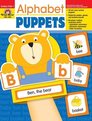 Alphabet Puppets - Evan-Moor Educational Publishers