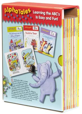 AlphaTales: A Set of 26 Irresistible Animal Storybooks That Build Phonemic Awareness & Teach Each Letter of the Alphabet - Scholastic