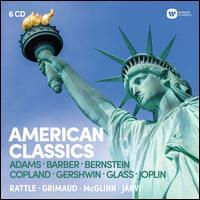 American Classics: Adams, Barber, Bernstein, Copland, Gershwin, Glass, Joplin - Birmingham Contemporary Music Group; Cynthia Clarey (vocals); Damon Evans (vocals); Harolyn Blackwell (vocals);...