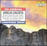 American Concertos - Carroll Glenn (violin); Edward Statkiewicz (violin); Gary Steigerwalt (piano); Lászlo Varga (tape); Lászlo Varga (cello);...