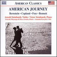 American Journey - Amanda Forsyth (cello); Arnold Steinhardt (violin); Dave Grusin (piano); Lincoln Mayorga (piano); Victor Steinhardt (piano)