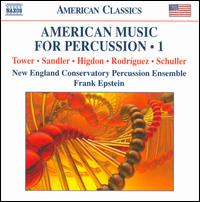 American Music for Percussion, Vol. 1 - New England Conservatory Percussion Ensemble