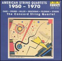 American String Quartets, 1950-1970 - Concord String Quartet