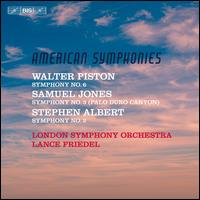 American Symphonies - London Symphony Orchestra; Lance Friedel (conductor)