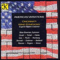 American Variations - Brian Bowman (euphonium); Wind Symphony; Eugene Corporon (conductor)