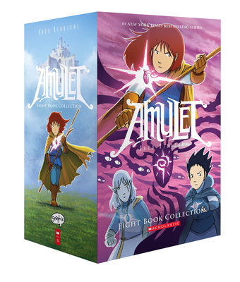 Amulet Eight Book Collection - Kibuishi, Kazu
