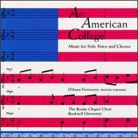 An American Collage: Music For Solo Voice And Chorus - D'Anna Fortunato (mezzo-soprano); David Cover (organ); Genevieve Lee (piano); Rooke Chapel Choir, Bucknell University;...