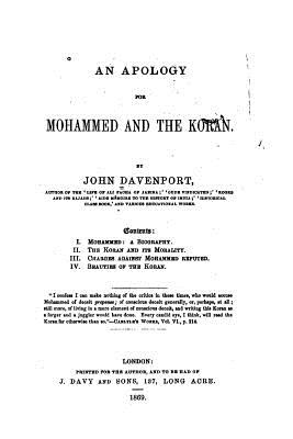 An Apology for Mohammed and the Koran - Davenport, John