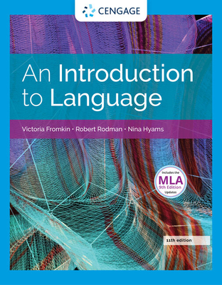 An introduction to language book by victoria fromkin 19 available an introduction to language fromkin victoria and rodman robert and hyams fandeluxe Choice Image