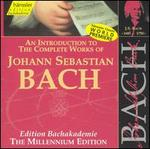 An Introduction to the Works of Johann Sebastian Bach