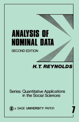 Analysis of Nominal Data - Reynolds, H () T