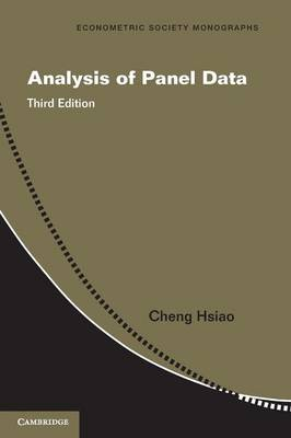 Analysis of Panel Data - Hsiao, Cheng