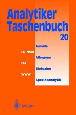 Analytiker-Taschenbuch - Gunzler, Helmet, and Borsdorf, Rolf, and Danzer, Klaus