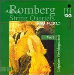 Andreas Romberg: String Quartets, Vol. 2