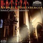 Andrzej Hakenberger: Motety