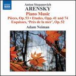 Anton Arensky: Piano Music