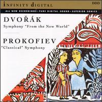 "Antonin Dvorák: Symphony ""From the New World""; Sergei Prokofiev: ""Classical"" Symphony -"