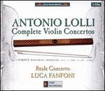 Antonio Lolli: Complete Violin Concertos