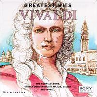 Antonio Vivaldi: Greatest Hits - Chantal Remillard (violin); Christina Mahler (cello); Cynthia Roberts (violin); Emerson Buckley (harpsichord);...