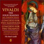 Antonio Vivaldi: The Four Seasons & Other Concerti - Adolf Holler (trumpet); Anton Ganoci (mandolin); Anton Heiller (organ); Anton Heiller (harpsichord);...