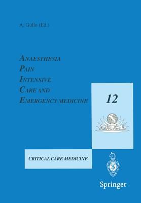 Apice 1997: Anaesthesia, Pain, Intensive Care and Emergency Medicine - Gullo, Antonino (Editor)