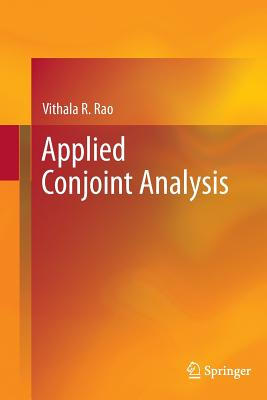 Applied Conjoint Analysis - Rao, Vithala R, Dr.