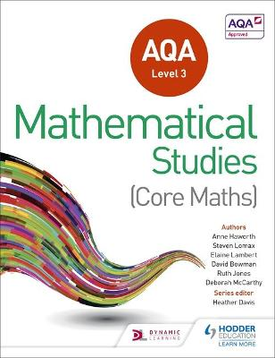 AQA Level 3 Certificate in Mathematical Studies - Davis, Heather, and Manning, Andrew, and Gale, Dave