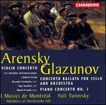 Arensky: Violin Concerto/Glazunov: Concerto Ballata/Piano Concerto