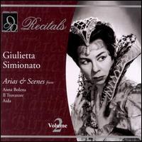 Arias & Scenes - Ettore Bastianini (vocals); Franco Corelli (vocals); Giulietta Simionato (mezzo-soprano); Nicola Zaccaria (vocals);...