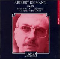 Aribert Reimann: Lieder - Aribert Reimann (piano); Barry McDaniel (baritone); Catherine Gayer (soprano); Ernst Haefliger (tenor)