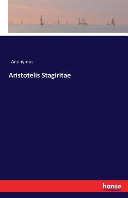 Aristotelis Stagiritae - Anonymus