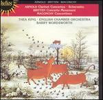 Arnold: Clarinet Concertos; Scherzetto; Britten: Concerto Movement; Maconchy: Concertinos