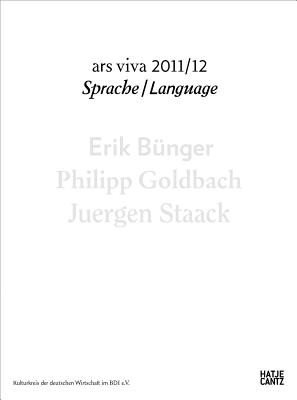Ars Viva 11, 12: Language - Connor, Steven (Text by), and Stiegler, Bernd (Text by)