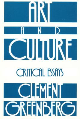 Art and Culture - Greenberg, Clement