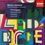 """Arthur Honegger: Symphonies Nos. 2 & 3 """"Ligurgique""""; Pacific 231"""