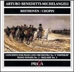 Arturo Benedetti-Michelangeli Plays Beethoven & Chopin