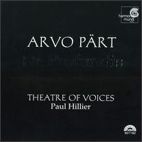 Arvo Pärt: De Profundis - Christopher Bowers-Broadbent (organ); Dan Kennedy (percussion); Theatre of Voices; Paul Hillier (conductor)