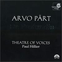 Arvo Pärt: De Profundis - Christopher Bowers-Broadbent (organ); Dan Kennedy (percussion); Theatre of Voices; Paul Hillier (conductor)