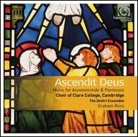 Ascendit Deus - Abigail Gostick (mezzo-soprano); Alexander Walmsley (tenor); Alice Halstead (soprano); Anthony Brown (saxophone);...