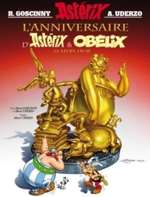 Asterix in French: L'anniversaire d'Asterix et Obelix no 34 - Mellon, Juliette