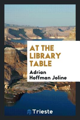 At the Library Table - Joline, Adrian Hoffman