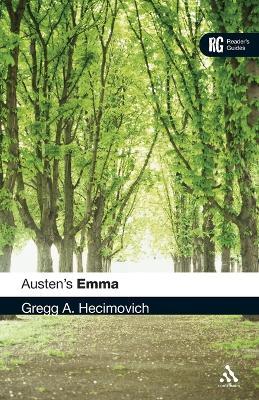 Austen's Emma - Hecimovich, Gregg A