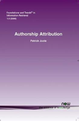 Authorship Attribution - Juola, Patrick