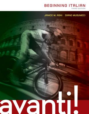 Avanti: Beginning Italian with Workbook/Laboratory Manual - Aski, Janice, Professor